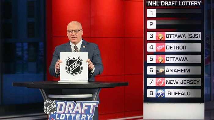The team that will draft first overall in 2020 is still to be determined, as one of the eight play-in teams beat out the Los Angeles Kings and Ottawa Senators in the 2020 NHL Draft Lottery.